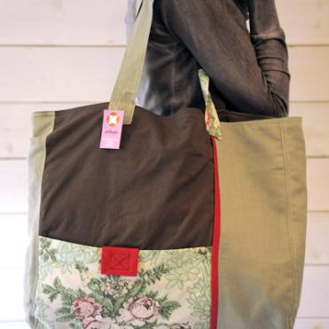 τσάντα patchwork