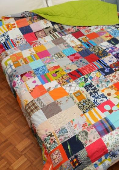 patcwork πάπλωμα για διπλό κρεβάτι
