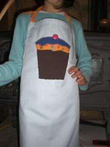 παιδική ποδιά Cup cake! kids apron