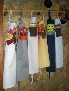 παιδικές ποδιές kids apron