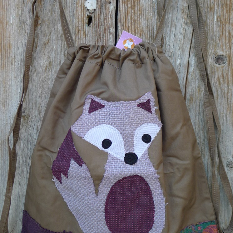 τσάντα πλάτης αλεπού