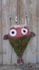 τσάντα πλάτης ψάρι