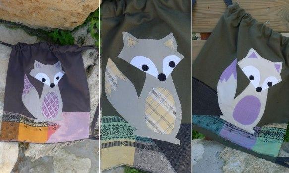 τσάντες πλάτης αλεπού