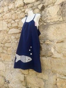 φόρεμα ψάρι