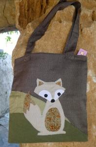 τσάντα ώμου αλεπού