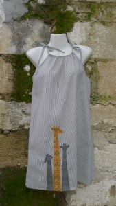 φόρεμα καμηλοπαρδάλεις