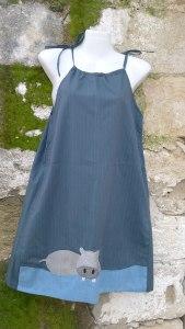 φόρεμα ιπποπόταμος