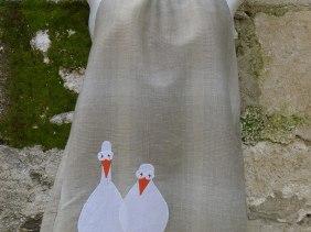 φόρεμα χήνες