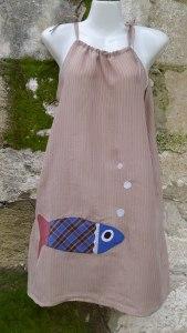 φόρεμα με ψάρι