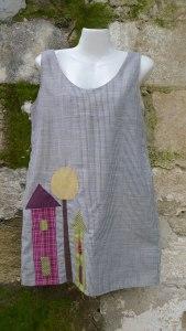 φόρεμα σπιτάκια