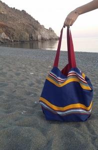 τσάντα ώμου παραλία