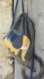τσάντα πλάτης ελέφαντας