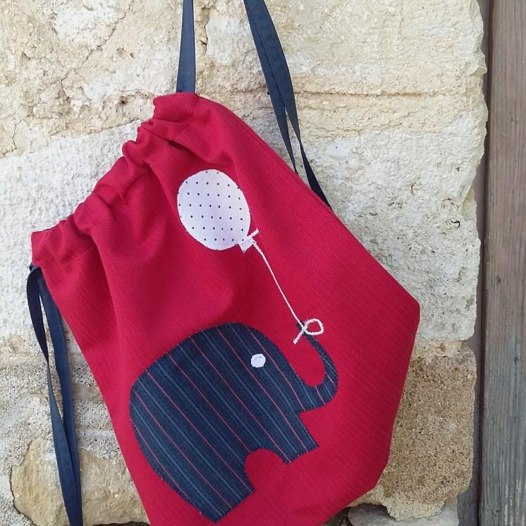τσάντα πλάτης μπαλόνι-ελέφαντας