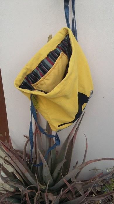εσωτερικό τσάντας πλάτης