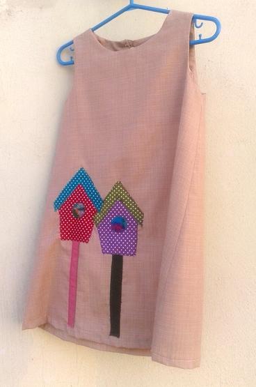 ροζ φορεματάκι