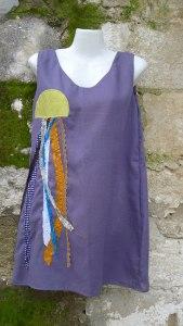 φόρεμα τιράντα με μέδουσα